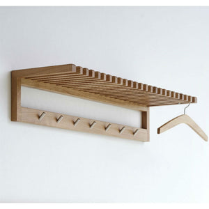 ByDurr Hat Rack in Solid Oak (H105xH21xD30cm) - CPHAGEN