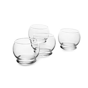 Normann Copenhagen Rocking Glass (25cl) - Set of 4