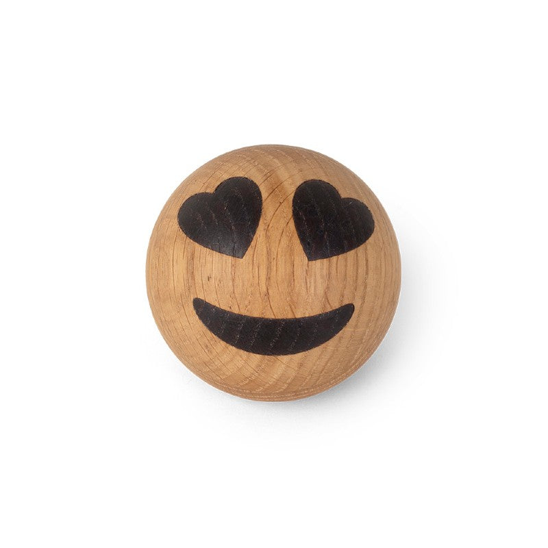 Spring Copenhagen Wooden Emoticon (Ø7cm)
