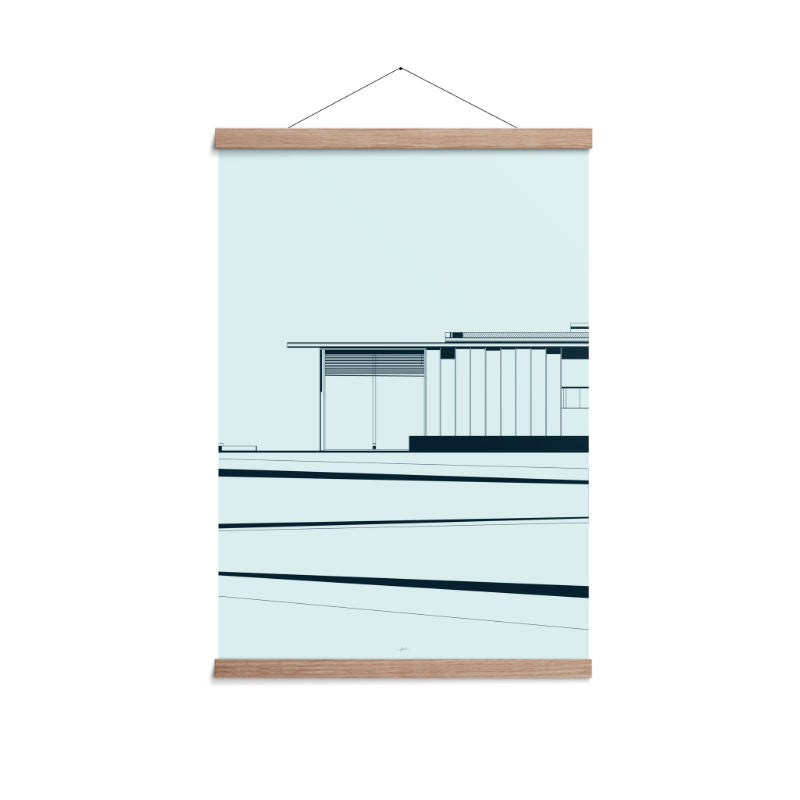 Enklamide Architect Level Poster (A3 - 70x100cm) - CPHAGEN