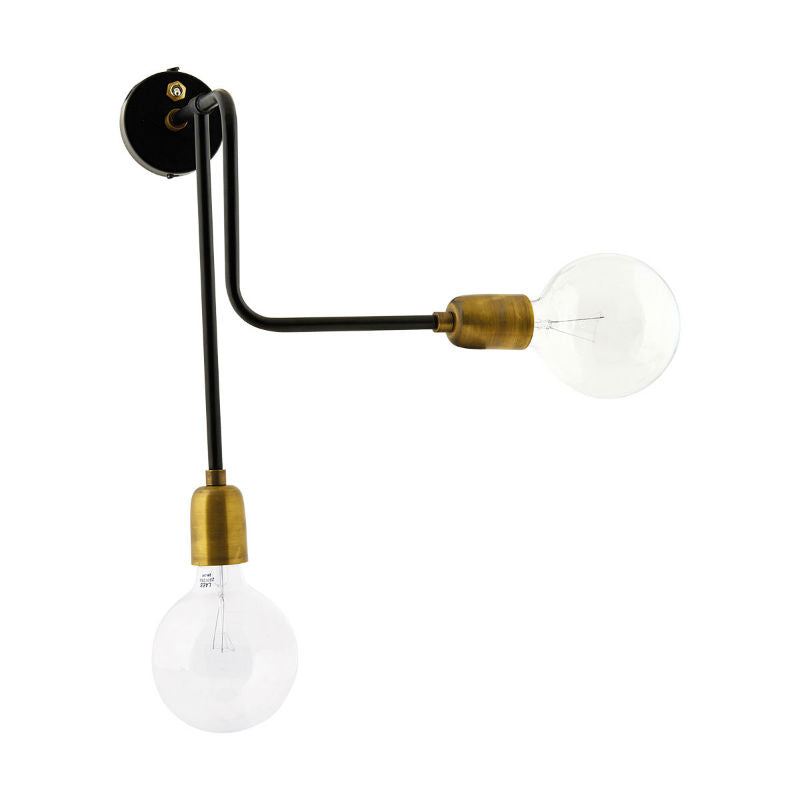 House Doctor Molecular Wall Lamp (18x30cm) - CPHAGEN