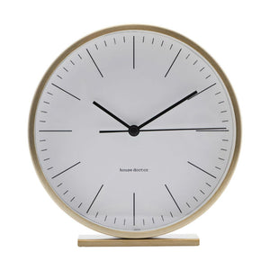 House Doctor Hannah Table Clock (Ø15cm) - CPHAGEN