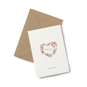 Kartotek Copenhagen Greeting Cards - A6 with envelope
