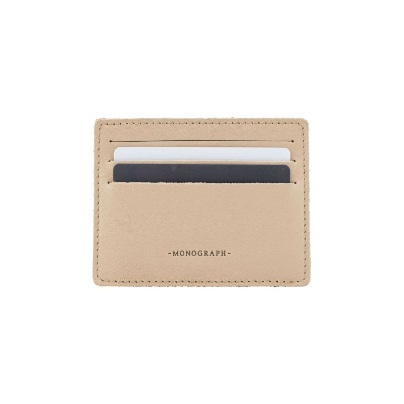 Monograph Leather Card Holder
