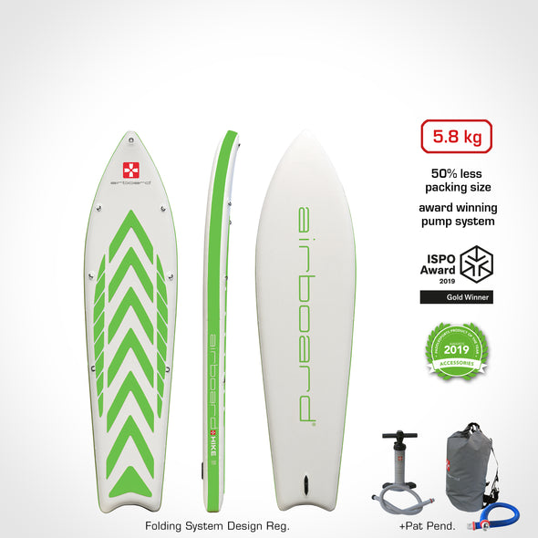 Airboard HIKE Ultralight Green 9'9""
