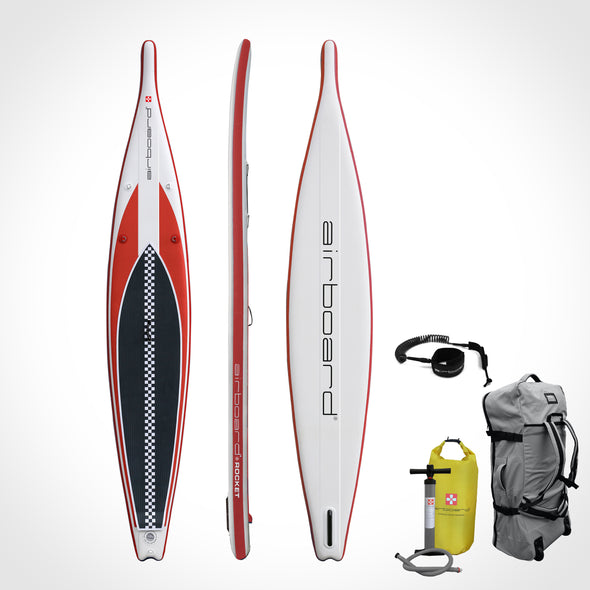 Airboard ROCKET Light Red 14'0''