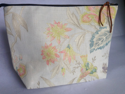 Small Linen Project Bag {Alice}
