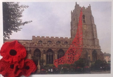 "Simply Handmade support ""Poppies for St Peters"""