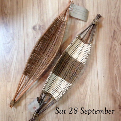 Weave your own Willow Boat Shaped Basket