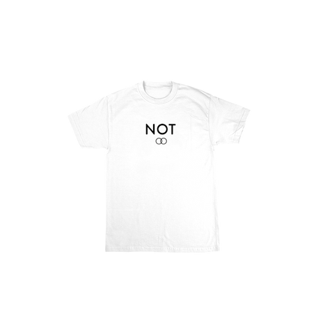 Not Dating White Tee