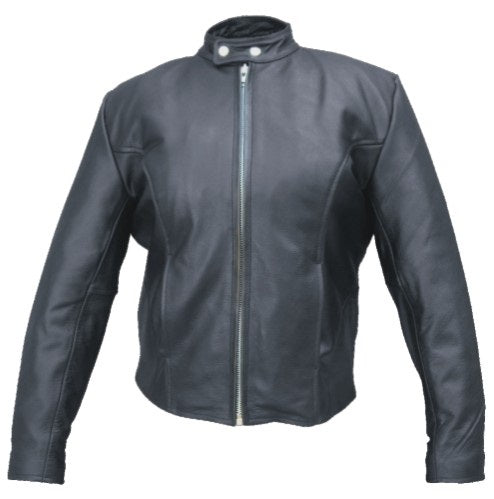 Womens Basic Scooter Jacket with Zip-Out Liner