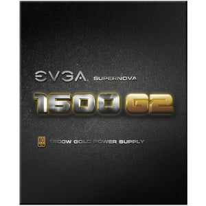 EVGA SuperNOVA 1600 G2 80+ GOLD, 1600W Fully Modular NVIDIA SLI and Crossfire Ready 10 Year Warranty Power Supply 120-G2-1600-X1