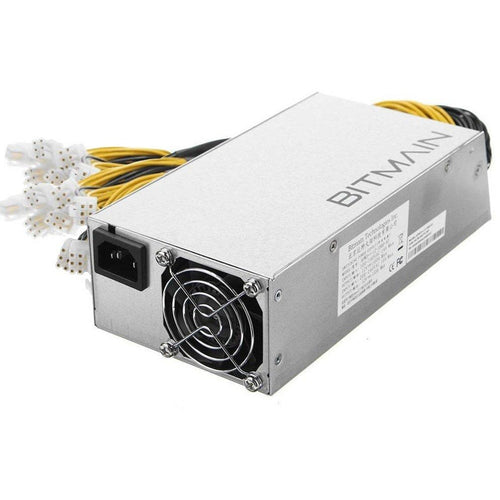 AntMiner Power Supply (APW3++ 1200W@110v or 1600W@220v w/ 10 Connectors)