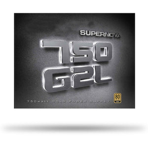 EVGA Supernova 750 G2L, 80 Plus Gold 750W, Fully Modular, Eco Mode, 10 Year Warranty, Includes Power ON Self Tester, White LED, Power Supply 220-GL-0750-X1