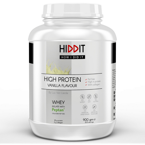 High Protein Whey + Collagen Vanilla 900 g