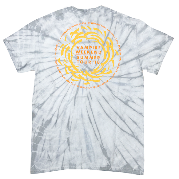Limited Edition Sun Summer Fest Tie Dye