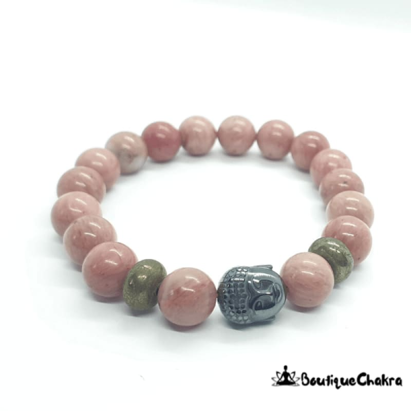"Bracelet ""Apaisement"" en Rhodonite Boutique Chakra"