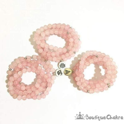 Mala en Quartz Rose [product_type] BoutiqueChakra