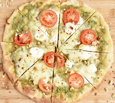 Walnut Pesto Pizza
