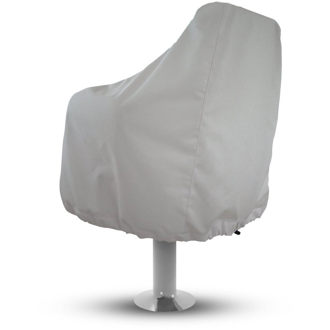 Boat Bench Chair Seat Cover Boat Seat Cover Heavy Duty Oxford Fabric Captains Chair Cover Weather Resistant 420D Waterproof Full Length Protection for Your Helm Chair Protective Cover (Blue)