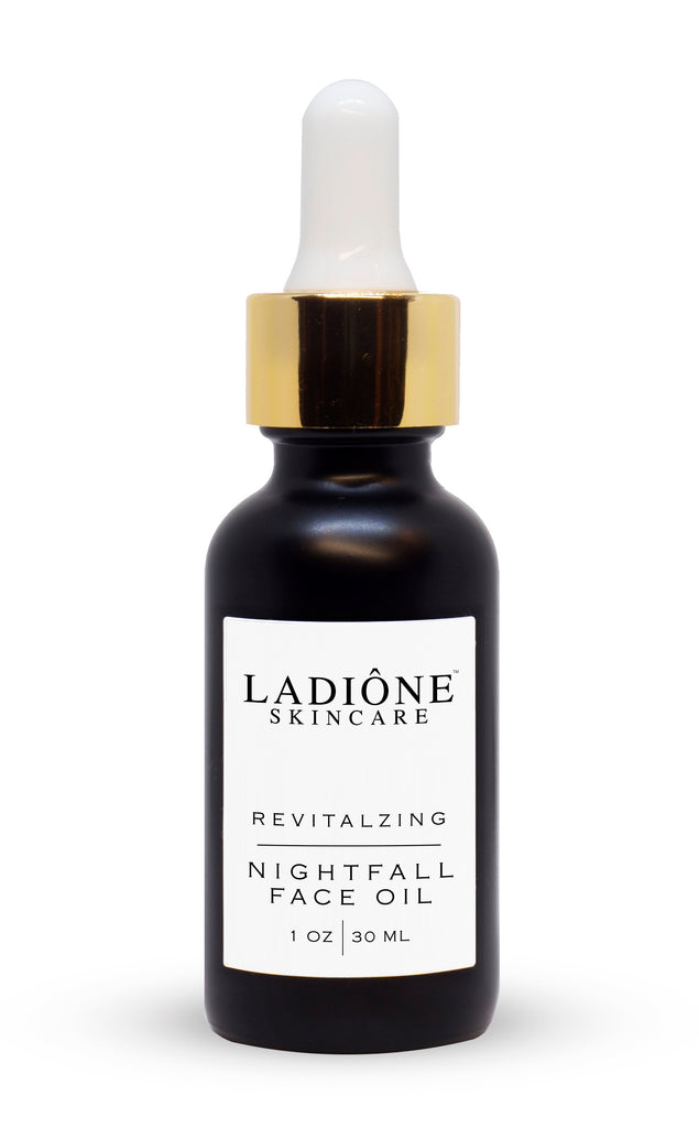 organic natural nighttime face oil night serum ladione skincare