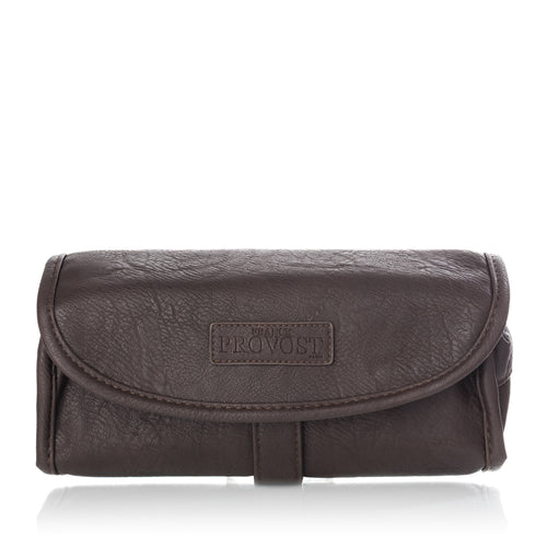 Hanging Travel Leatherette Toiletry Bag