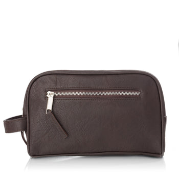 Barber Leatherette Toiletry Bag