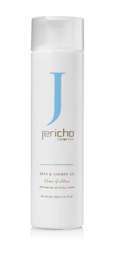 Bath and Shower Gel w/ Dead Sea Minerals & Plant Extracts