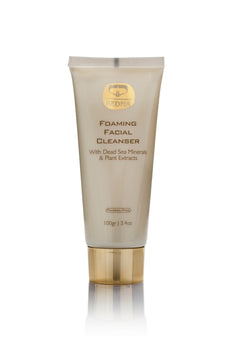Foaming Facial Cleanser with Dead Sea Minerals & Plant Extracts