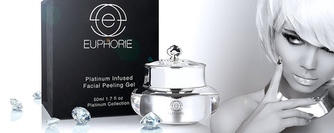 Platinum Infused Facial Peeling Gel