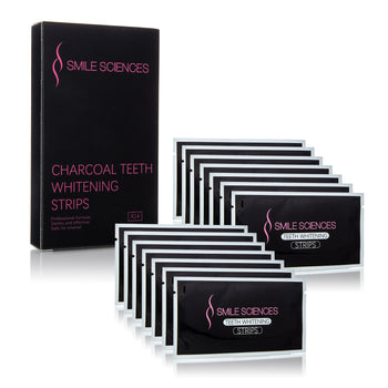 Gel Infused Charcoal Whitening Strips