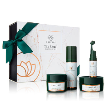 Ritual Discovery Set - Facial Exfoliator, Serum, Moisturizer & Eye Serum