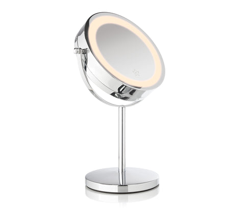 "Glam Series 7"" Intelligent Dual Touch LED Vanity Mirror"
