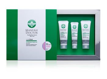 ApiClear Introductory Kit (Facial Moisturizer & Cleanser + Skin Treatment Serum)