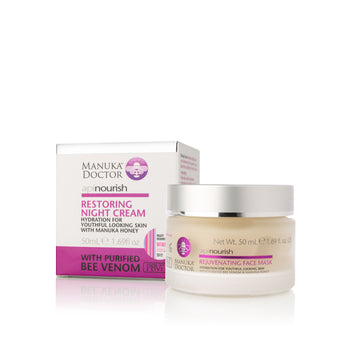 ApiNourish Restoring Night Cream w/ Bee Venom and Manuka Honey