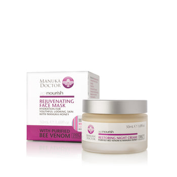 ApiNourish Rejuvenating Face Mask w/ Bee Venom and Manuka Honey