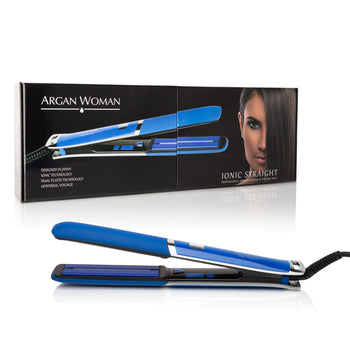 "1"" Ionic Frizz-Free Straightening Iron - Blue"