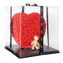 The Forever Handmade Red Rose Petal Heart w/ Gift Box - *Best Holiday Gift*