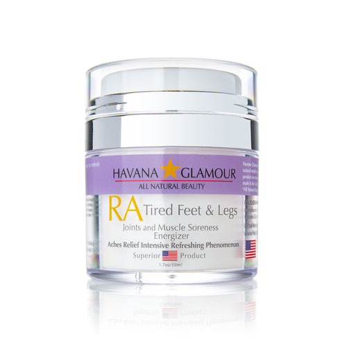 RA Tired Feet & Legs Pain Relief Cream for Joint & Muscle Relief