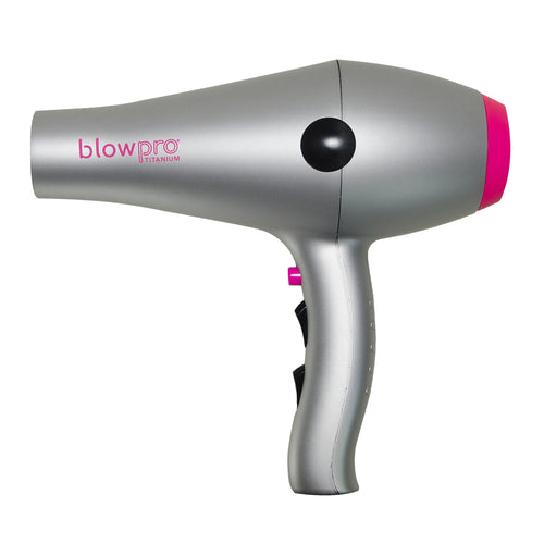 Titanium Blow Dryer with Antimicrobial Pure Air Technology