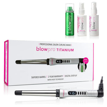 5-Piece Easy Curl Digital Curling Wand Kit