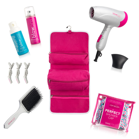 12-Piece Jetsetter's Perfect Blowout Travel Kit