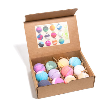 12-Piece Ultra Lush Bath Bombs Assorted Set