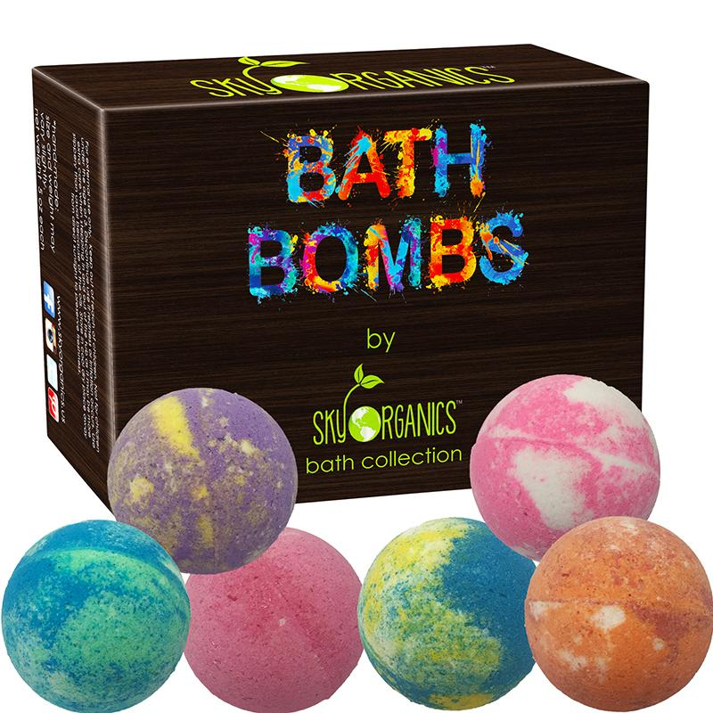 SKY ORGANICS - Sweet Touch Bath Bombs Assorted Set - Adults