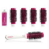 8-Piece Click-n-Curl Interchangeable Brush Set