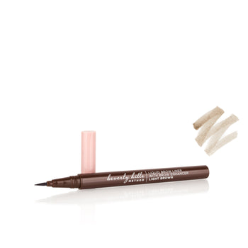 2-in-1 Liquid Brow Liner with Brow Growth Enhancer (Light Brown)
