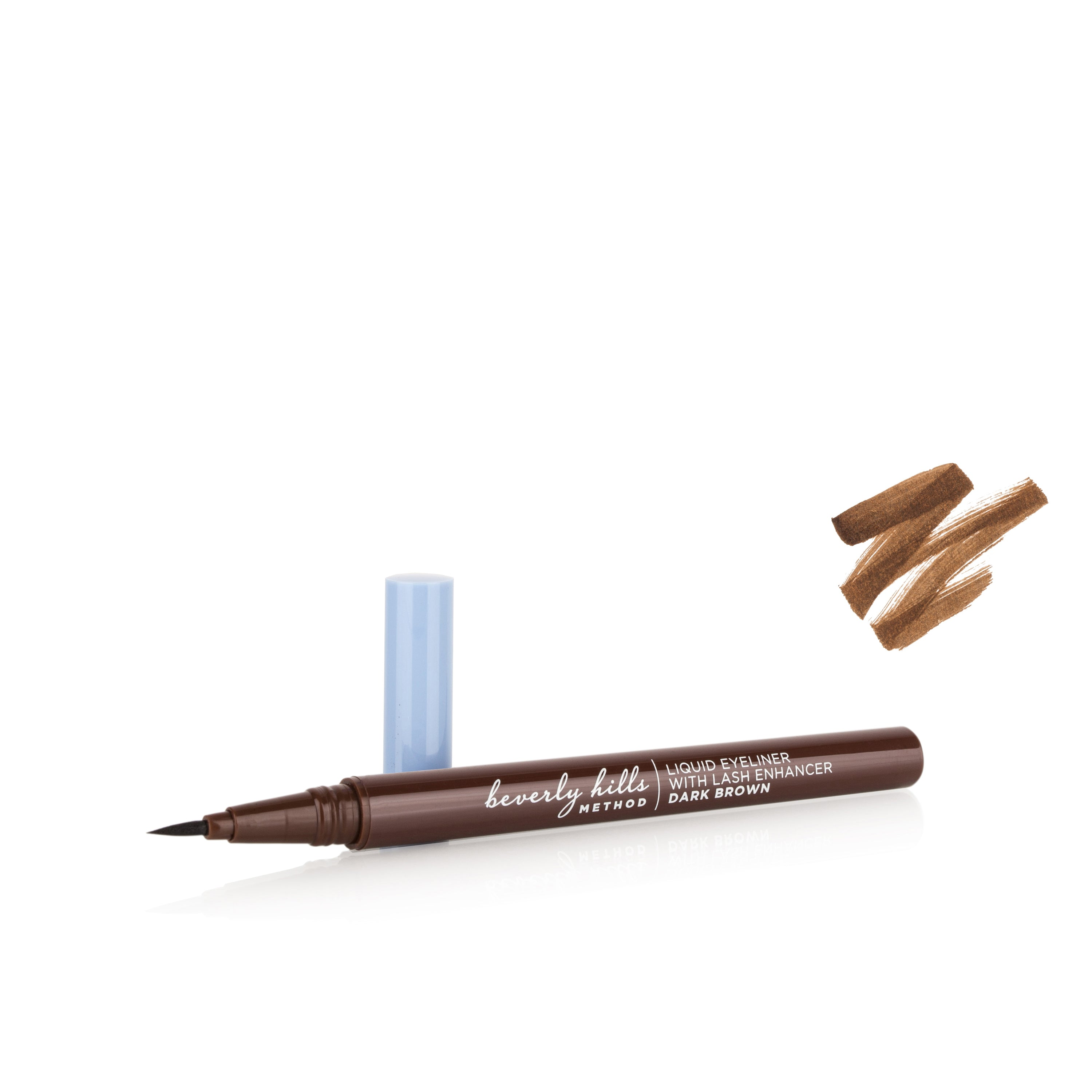 2in1 Liquid Eyeliner with Lash Growth Enhancer - Dark Brown