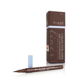 2-in-1 Liquid Eyeliner with Lash Growth Enhancer (Grey)
