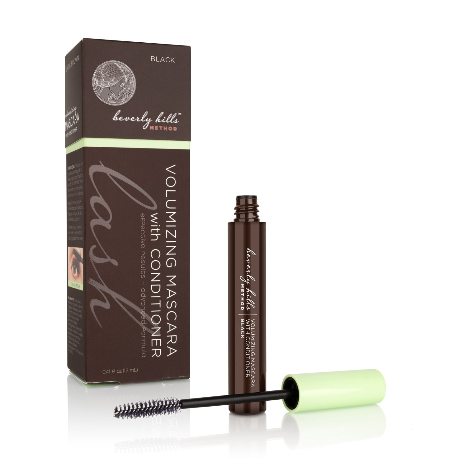 Mascara with Lash Growth Enhancer - Black