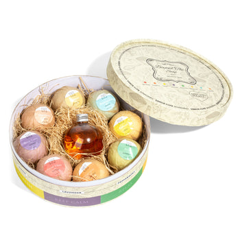 Handmade Essential Oil Bath Bombs & Shower Gel Gift Set